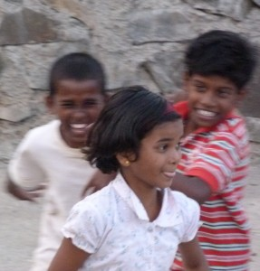 Shikshan Gram children at play